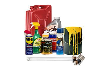 Household Hazardous Waste Disposal Image