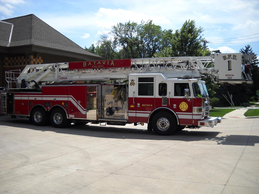Fire Department Ladder Truck