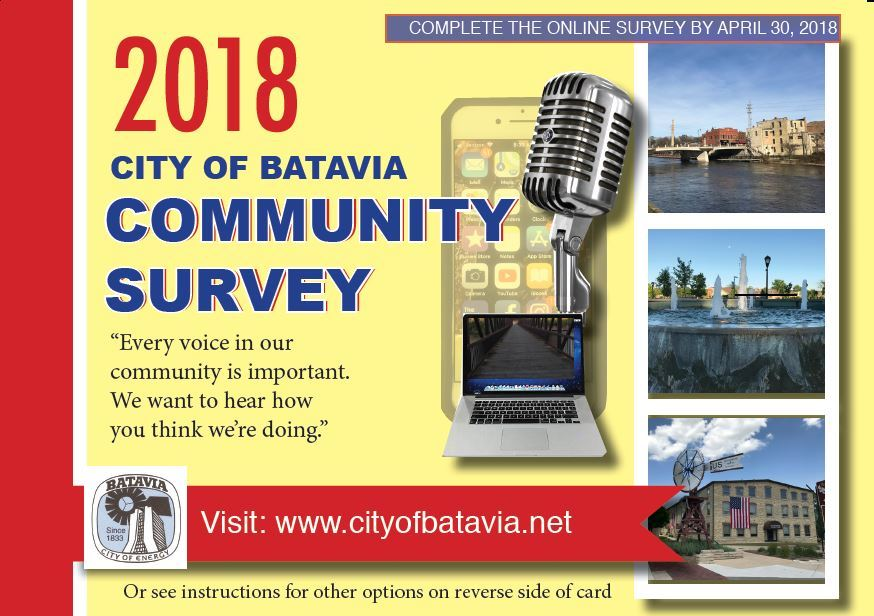 Community Survey Front Page Artwork