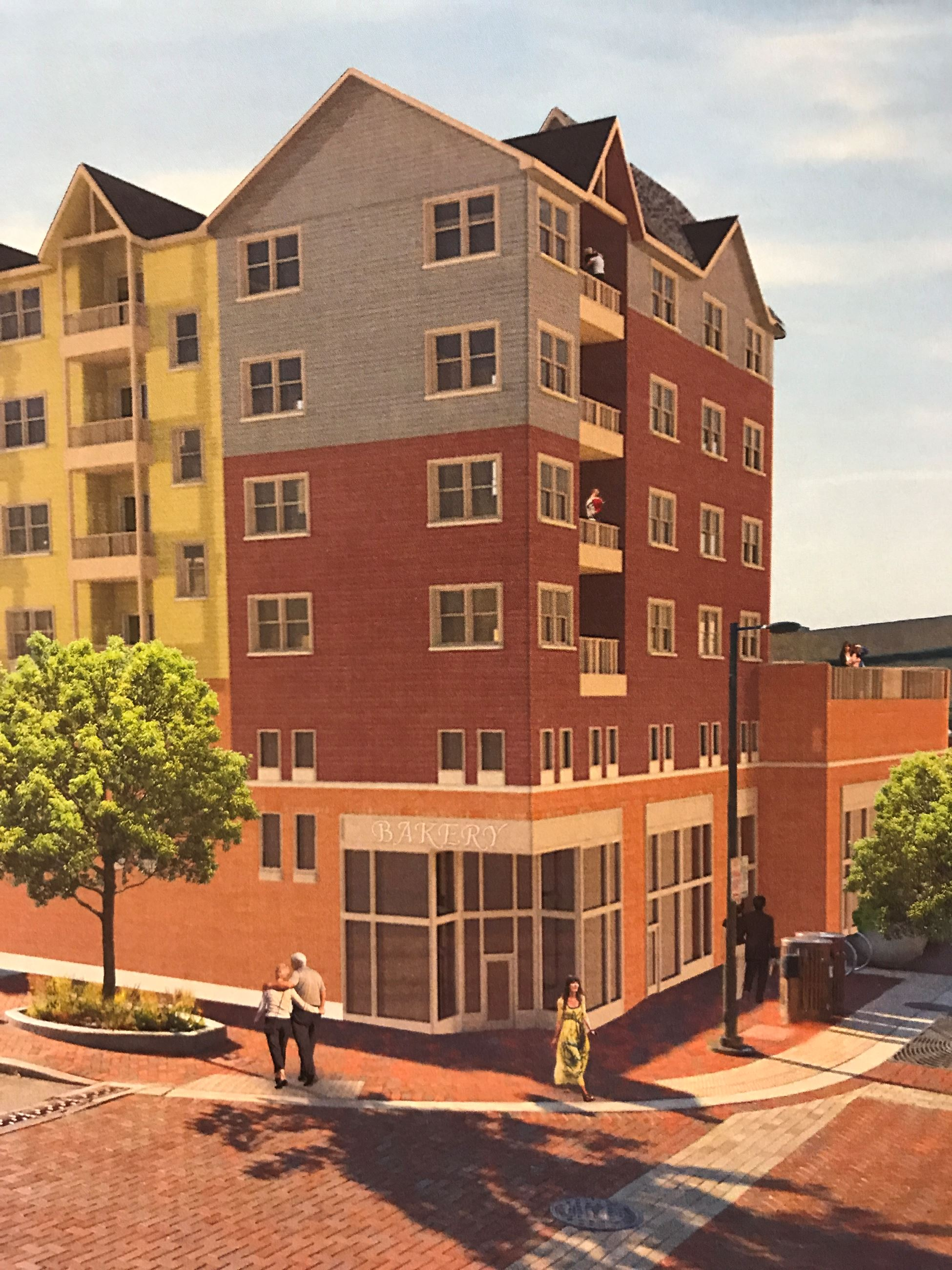 One Washington Place Rendering at River Street and State Street