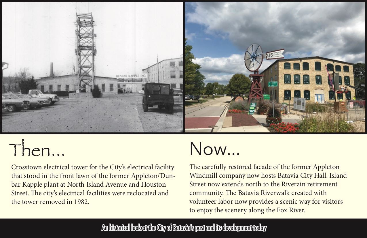Then and Now City Hall